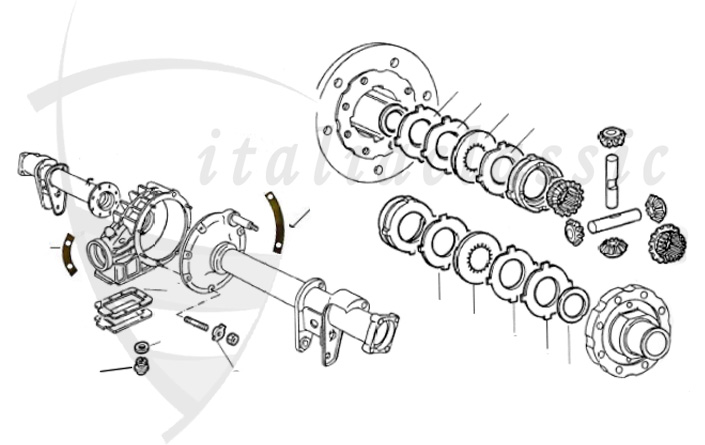 alfa romeo spider front suspension