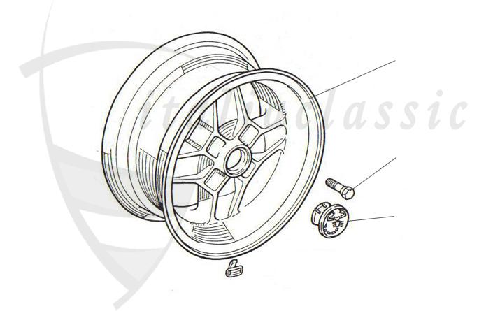 Fiat 124 Abarth Rally Suspension Brake System