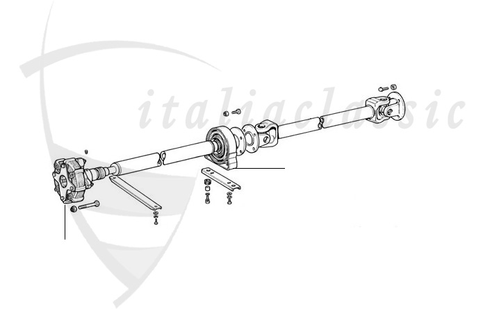 Fiat Dino Coupe Spider Transmission
