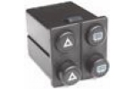 multiple-function switch for electr. heated rear..