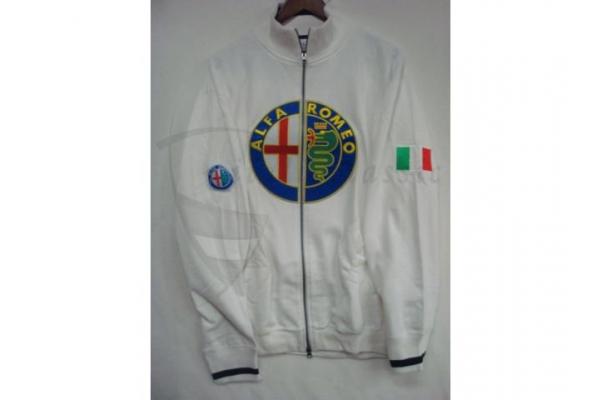 uniform jacke weiß