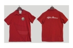 Alfa Romeo Polo T-Shirt with collar red