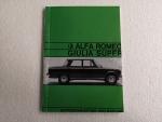Betriebsanleitung Alfa Romeo Giulia 1600 Super (Copy)