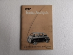 Betriebsanleitung Fiat 600 D Multipla (Copy)