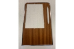 WOOD VENEER COVER MIDDLE CONSOLE - GTV 2000 INKL.CHROME